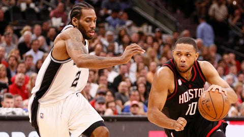 Kawhi has the advantage from three and from the line