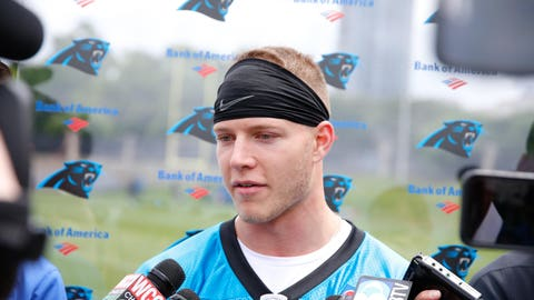 Christian McCaffrey will have the biggest opportunity to shine
