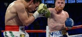 Canelo Alvarez teaches Julio Cesar Chavez Jr. a boxing lesson