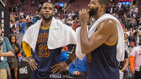 The pressure could be getting to LeBron