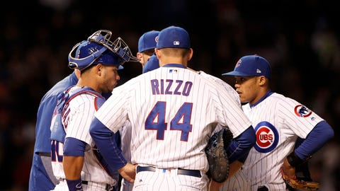 Chicago Cubs (16-14)