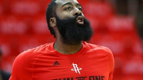 G, first team: James Harden, Houston Rockets