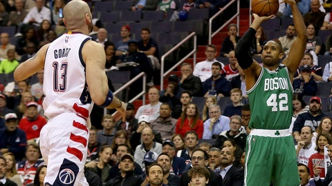 Al Horford is peaking