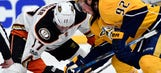 Predators center Ryan Johansen out for the rest of the playoffs with thigh injury