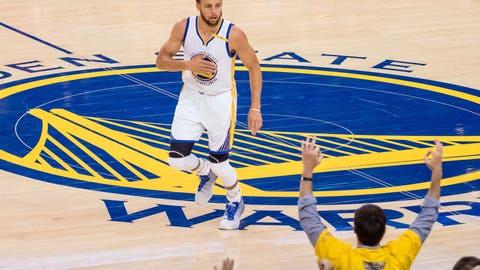 Warriors win in five