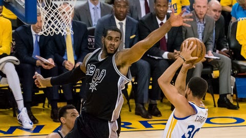 LaMarcus Aldridge was atrocious when San Antonio needed him to step up