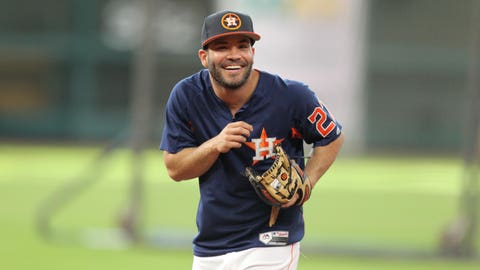 Second base: Jose Altuve