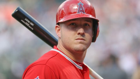 Mike Trout, center field