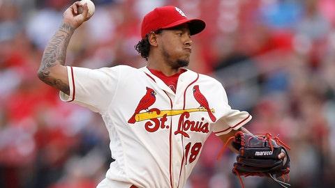 St. Louis Cardinals (22-19)