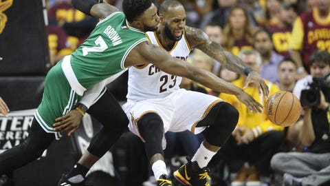 The Celtics didn't do anything special on defense