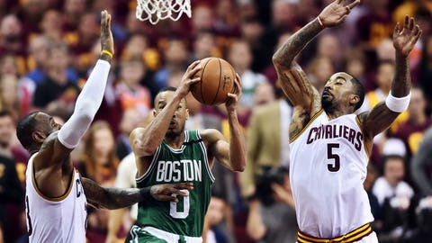 LeBron had another one of his inexplicable playoff debacles