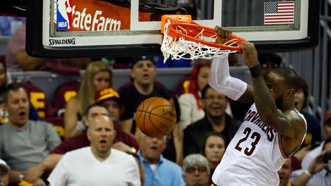 This was a wake-up call for the Cavs