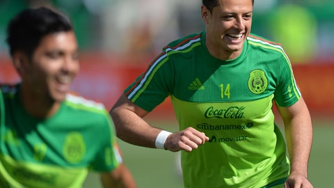 A record for Chicharito