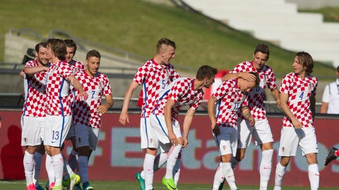 This wasn't close to Croatia's best team