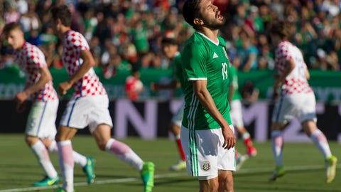 The scoreline was unfair to Mexico