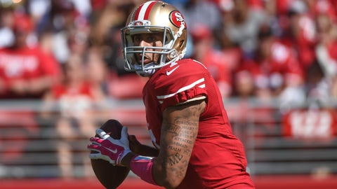 There's no way Colin Kaepernick is not good enough to play in this league