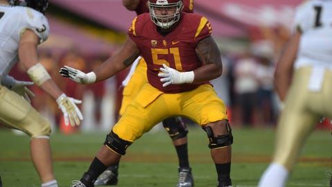 Kansas City Chiefs: Damien Mama, OG, USC
