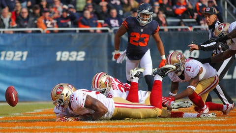 Lowest total: San Francisco 49ers and Cleveland Browns (4.5 wins)