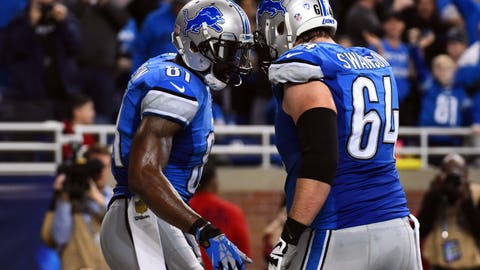 The Lions paid Calvin Johnson quarterback money, and he walked away