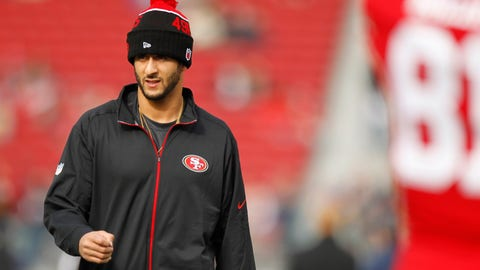 Kapernick is clearly more qualified than most free-agent QBs