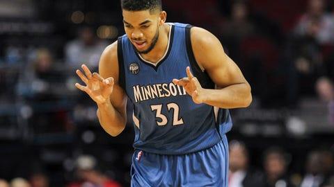 2015: Minnesota Timberwolves