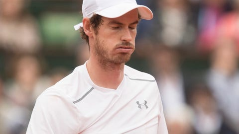 What's up with Andy Murray?