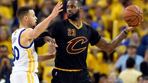 All the pressure is on the Warriors in these Finals