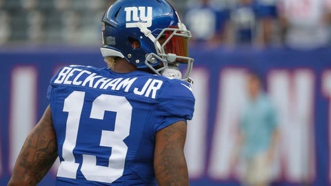 The Giants' system is the same, and Beckham has always produced
