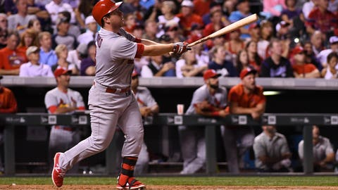 Gyorko's patience paying off