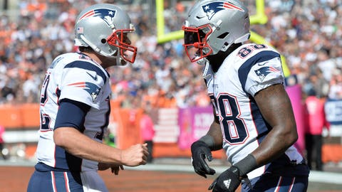 Highest total: New England Patriots (12.5 wins)