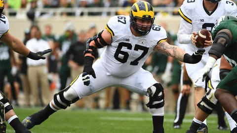 Washington Redskins: Kyle Kalis, OG, Michigan