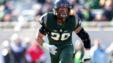 Tampa Bay Buccaneers: Riley Bullough, LB, Michigan State