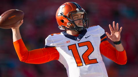 Minnesota Vikings: Wes Lunt, QB, Illinois