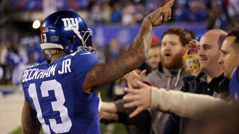 Odell Beckham Jr. knows he's almost untouchable