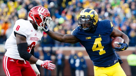 Miami Dolphins: De'Veon Smith, RB, Michigan