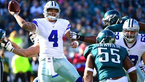 Dak isn't anything close to a game-manager