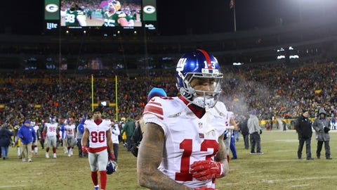 Beckham's position as the Giants' No. 1 is still safe for now