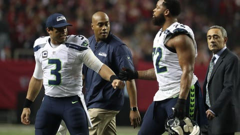 This could have more to do with Russell Wilson's relationship with his teammates