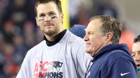 Belichick is the one guy who hasn't endorsed Brady's plan to play as long as possible