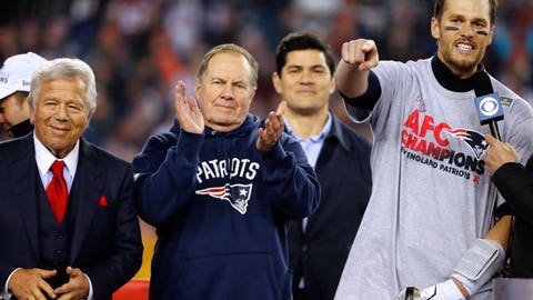 Coach Belichick is strong enough to make the tough decision for Brady