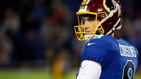 The Redskins still don't have a quarterback of the future after Cousins