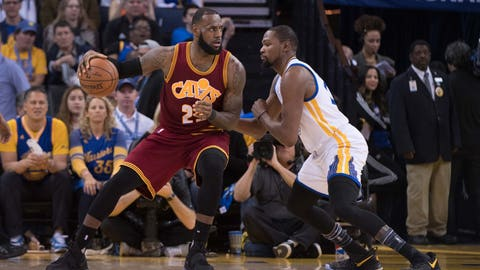 Expect plenty of LeBron on Durant, and vice versa