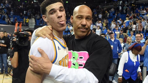LaVar Ball explains why Lonzo didn't go to the NBA Draft Lottery: 'He don't care about the pony show'