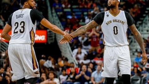 New Orleans Pelicans: 1.1 percent chance