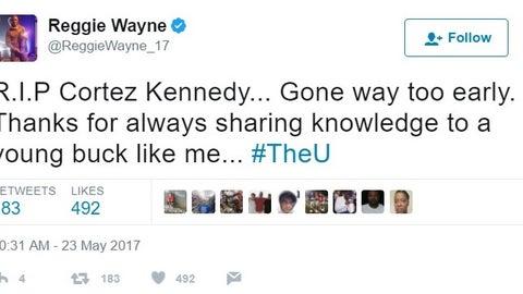 Former Colts WR Reggie Wayne