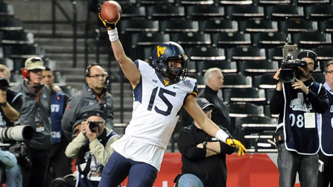West Virginia WR David Sills