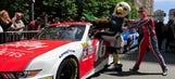 NASCAR XFINITY drivers invade the streets of Philadelphia