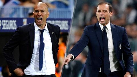 Zinedine Zidane vs. Max Allegri