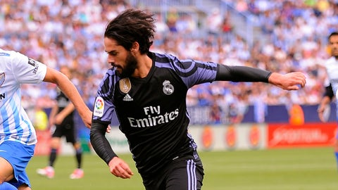 Attacking midfield: Isco
