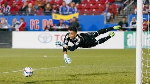 GK: Jesse Gonzalez